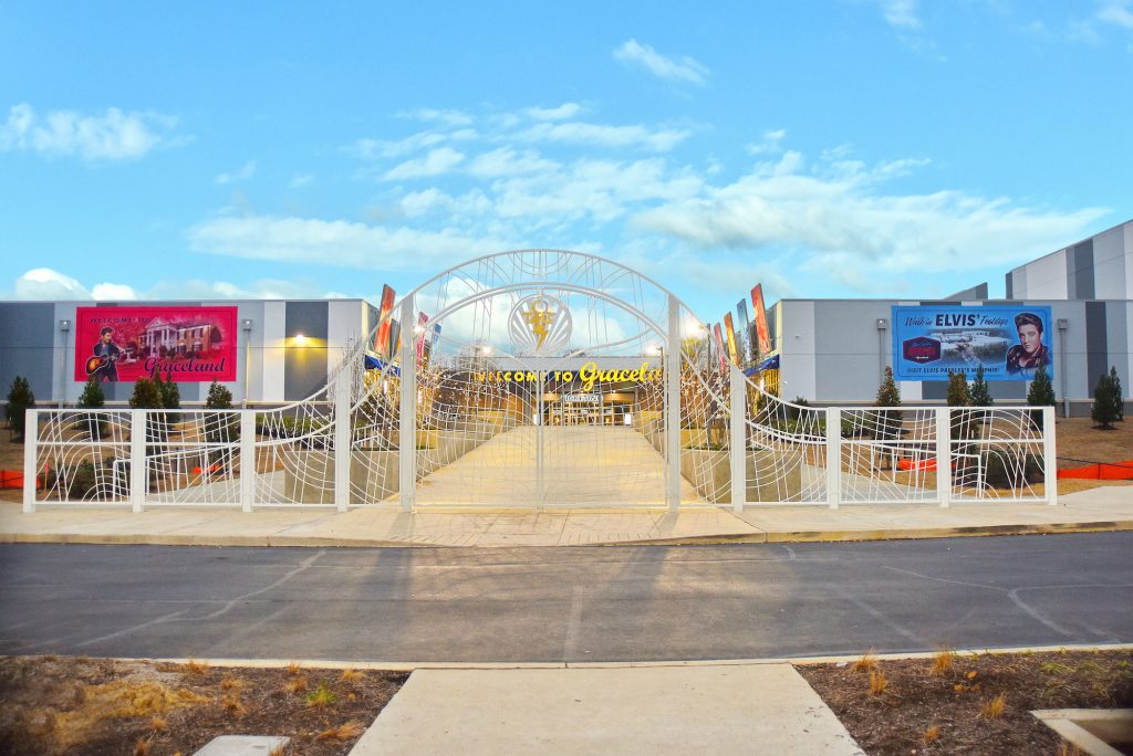 Elvis Presley's Memphis Gate