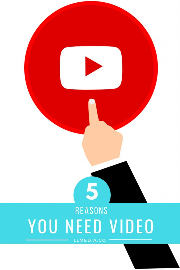 5 Reasons You Need Video