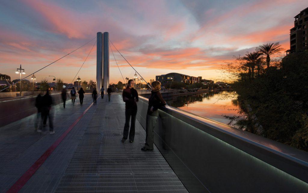 Soleri Bridge & Plaza