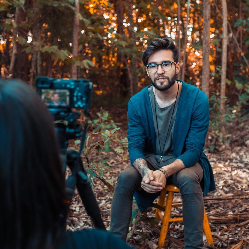 Video Interview shot